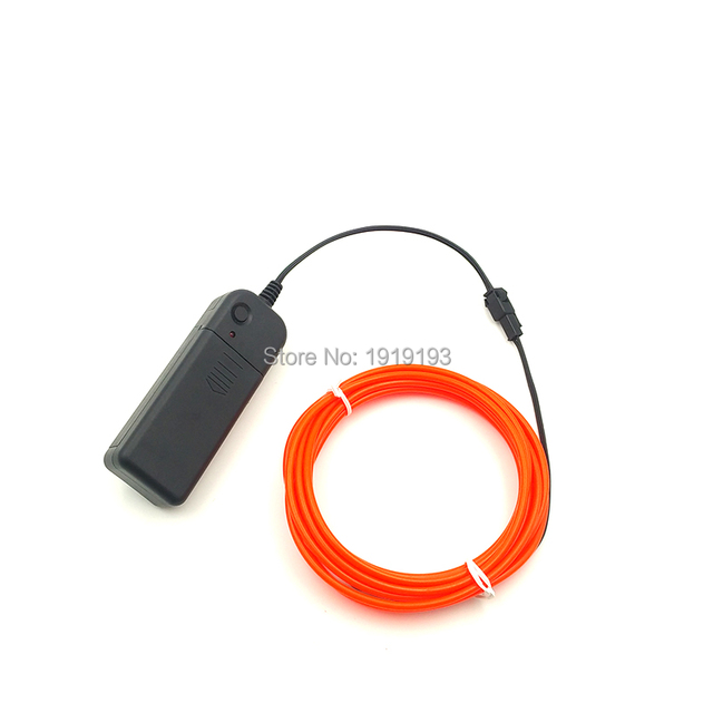 3.2mm 3Meters Battery Powered Flashing holiday Decoration Flexible ...