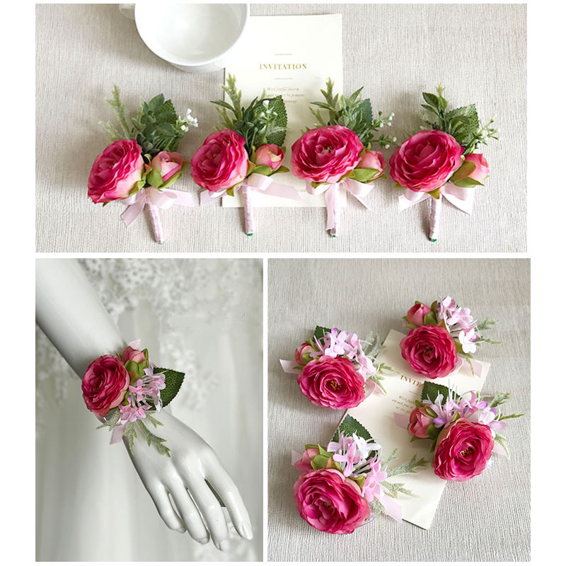 wedding boutonniere corsage 2