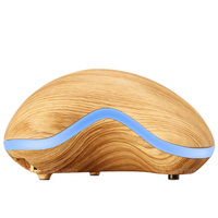 150ml Aroma Essential Oil Diffuser Wood Grain Ultrasonic Cool Mist Humidifier For Office Home Bedroom Living