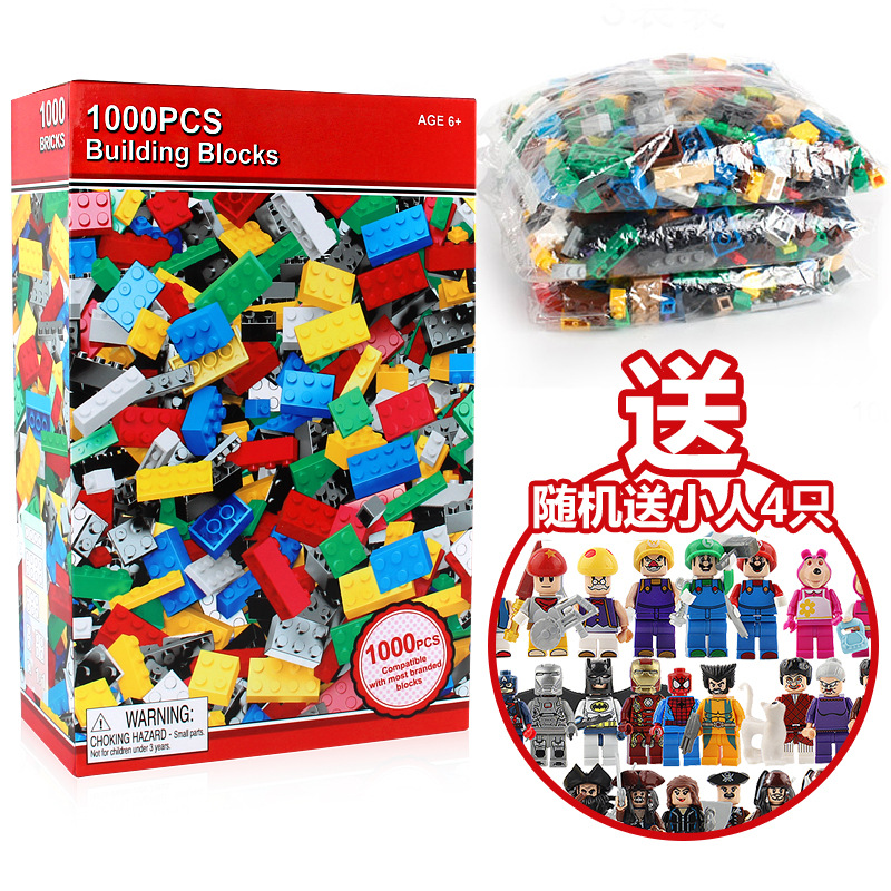 1000 Pieces DIY Small Particles Are Assembled In Bulk, Educational, Scientific and Educational Children's Building Blocks. loz diamond blocks small particles mini building blocks bagged animal series children s educational assembled toys
