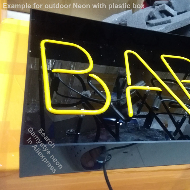 Neon Sign for Hot Ro Neon Bulb sign handcraft Glass tubes Decorate windows lights personalized electronic signs 3