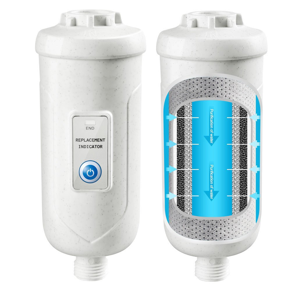 Universal Shower water Filter, with triple filtration system and lifetime indicator, remove 99% chlorine and water impurifies em 307s 7 8 filter drier providing filtration in refrigeration system and hvac products