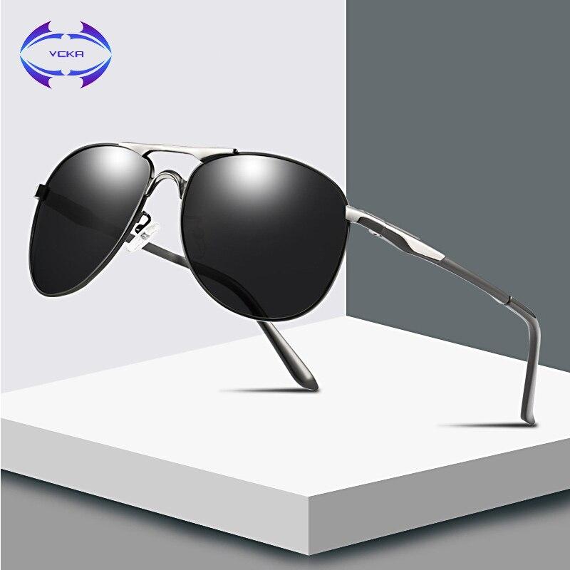 VCKA Fahren Polarisierte Sonnenbrille Männer Pilot Chameleon Verfärbung sonnenbrille klassische Frauen oculos de sol masculino Brillen