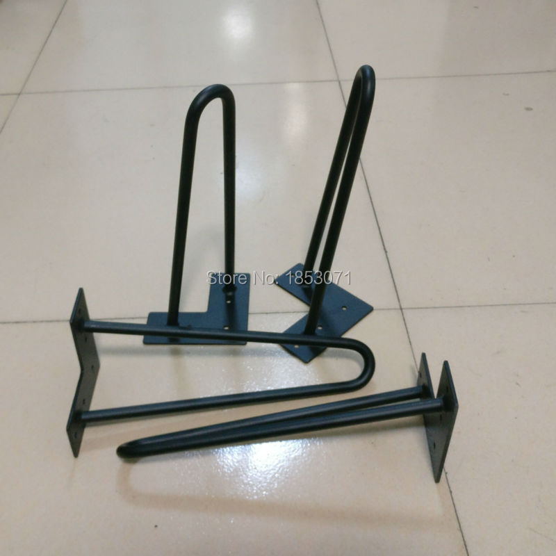 Fine 12 Hairpin Legs Matte Black 1 2 Steel Rod Set Of 4 Chair Pdpeps Interior Chair Design Pdpepsorg