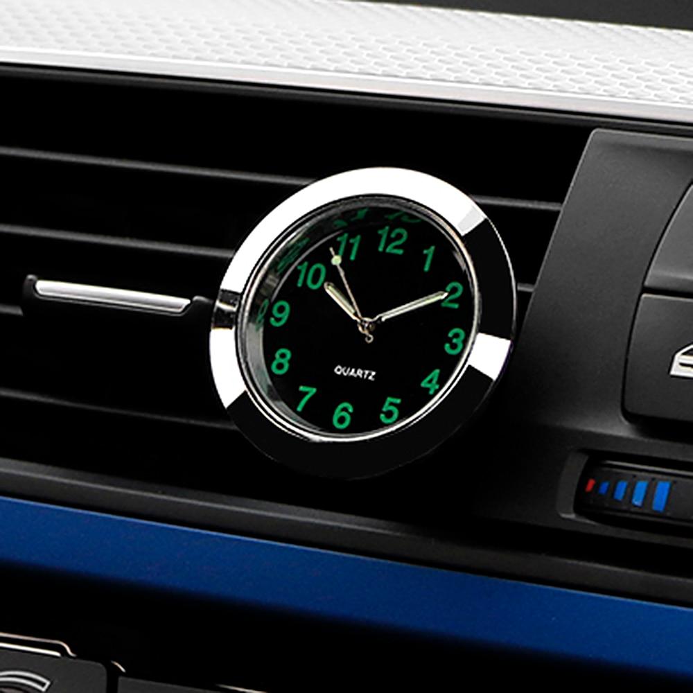 Car styling quartz clock car decoration ornaments vehicle for Auto interieur styling