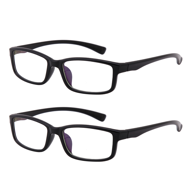 2x Clear Lens Frames Glasses Everyday Use Full Rim Home Office ...