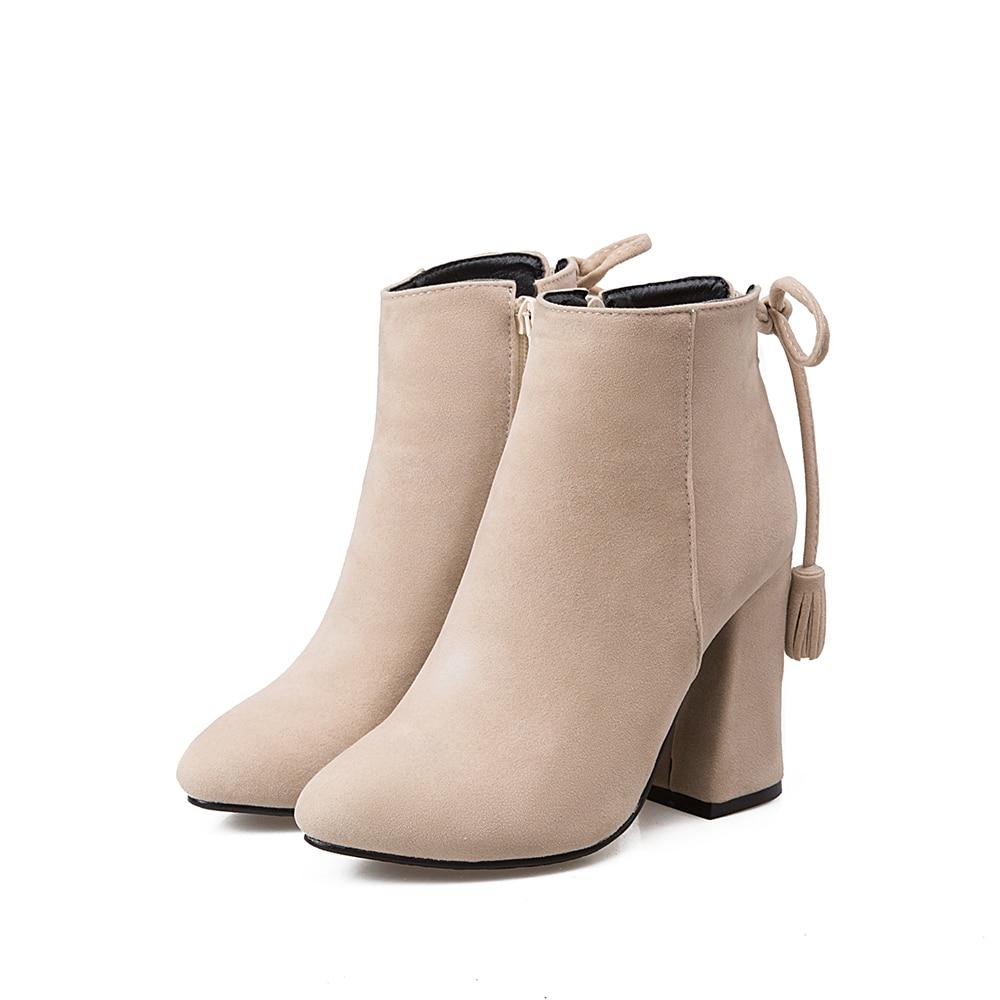 Ventas calientes zapatos de mujer de moda de borla con cordones - Zapatos de mujer - foto 4