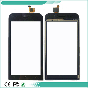 High Quality 4.5'' For ASUS ZenFone Go mini ZC451TG Z00SD Touch Screen Digitizer Panel Glass With Tape Black Color