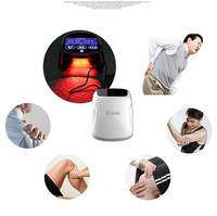 Cold LLLT Laser 850nm And 650nm Massager Combine Infrad Light Theraph And Kneading
