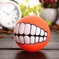 Звук мяч собака щенок скрипучая жевательная игрушка пищалка мяч, забавные игрушки уклонение клей сферическая головка в форме ожерелья jouet ...
