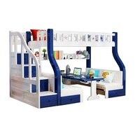 Современная детская двухъярусная кровать для дома Letto Ranza Literas Madera moterna Cama Mueble De Dormitorio