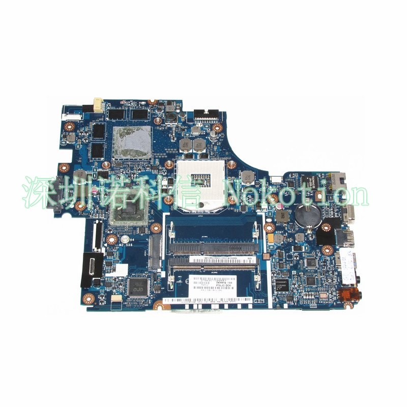 все цены на NOKOTION MBRHK02001 MBRHK02001 Mainboard For Acer aspire 5830TG 5830T Laptop Motherboard P5LJ0 LA-7221P HM65 DDR3 GT540M GPU онлайн