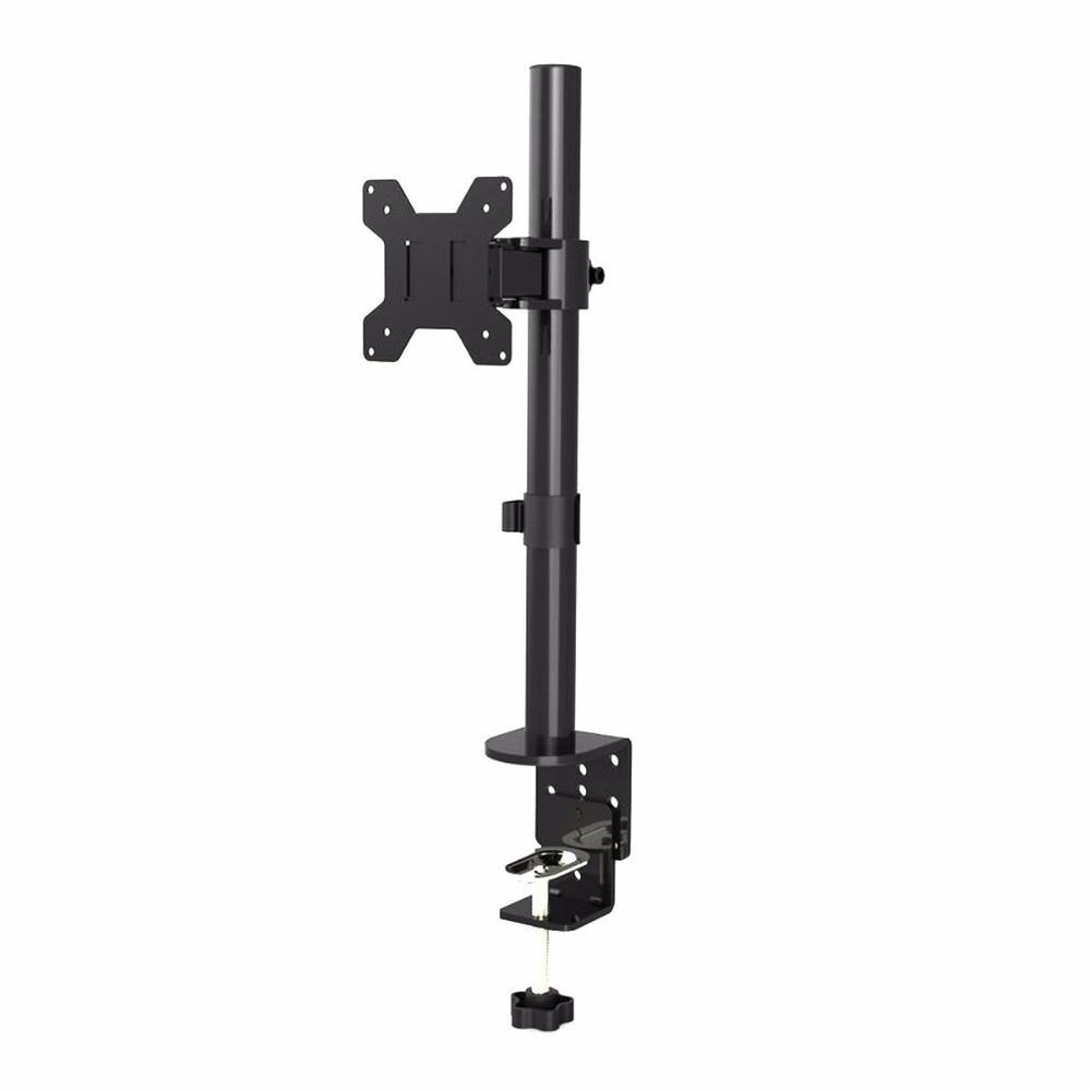 Suptek Fully Adjustable Single Arm LCD LED Monitor Stand Desk Mount Bracket For 13