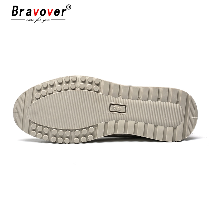New Fashion Casual Flat Vulcanize Shoes For Men Breathable Lace-up Shoes Footwear Striped Shoes Flax And Cattle Cross Stitching 5