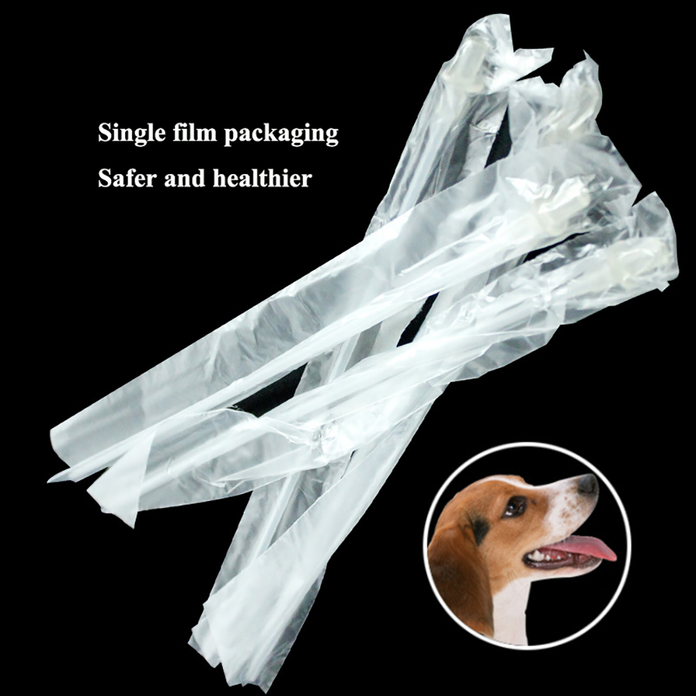 20PCS Disposable Pets Canine Artificial Insemination Pipe Plastic Dog Sheep Semen Deposition Clinic Consumable Tubes Equipment