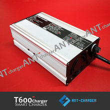 58.4V 10A LiFePO4 battery charger 58.4V10A LiFePO4 battery charger nominal voltage 48V 51.2V 16S LiFePO4 LEF battery charger(China)
