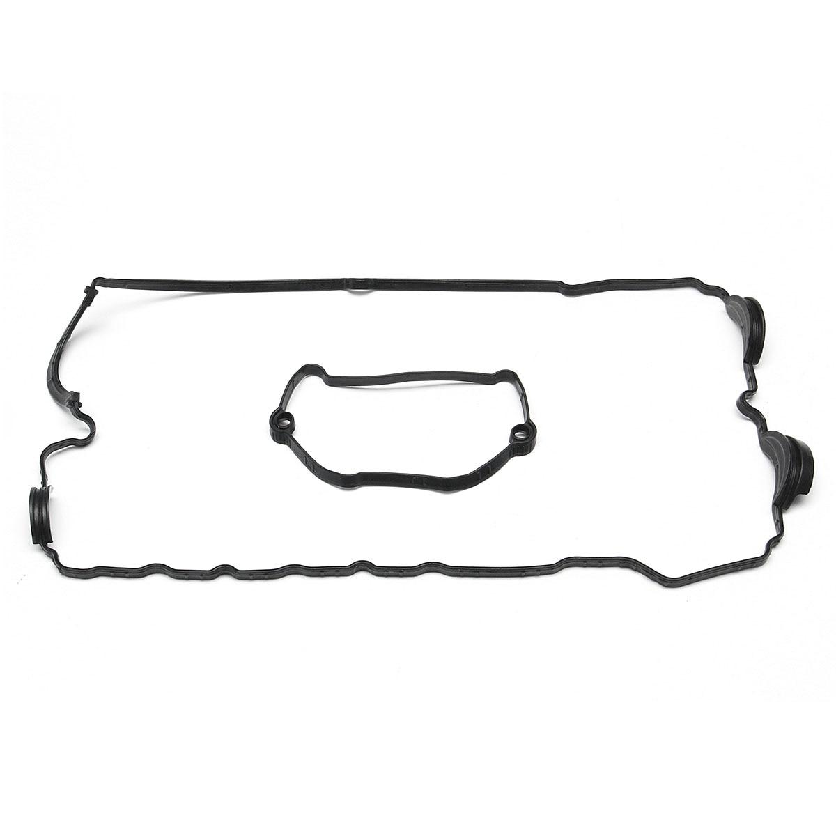1 Set Plastic Valve Rocker Cover Gasket For Bmw E82 E90