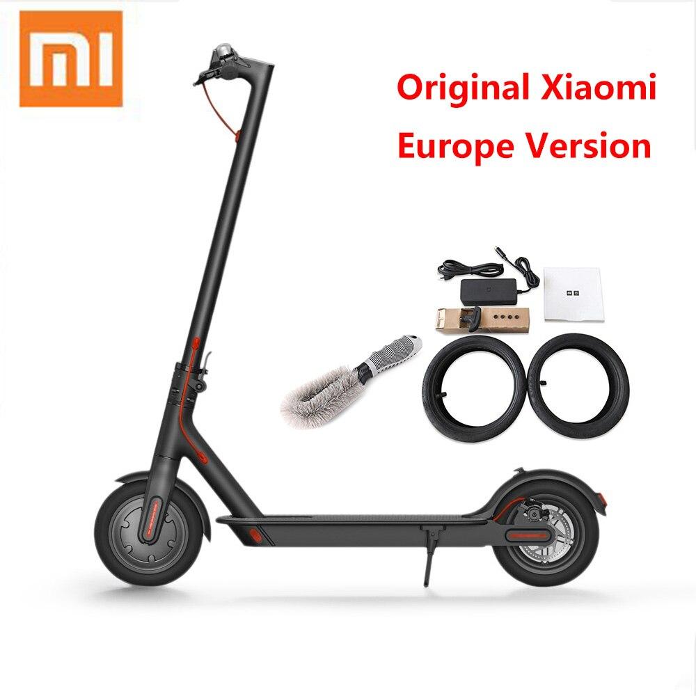 Originale Xiaomi Scooter Elettrico M365 Pieghevole Ultralight di Skateboard Hoverboard Con E-ABS di Controllo di Crociera (Versione Europa) Con APP