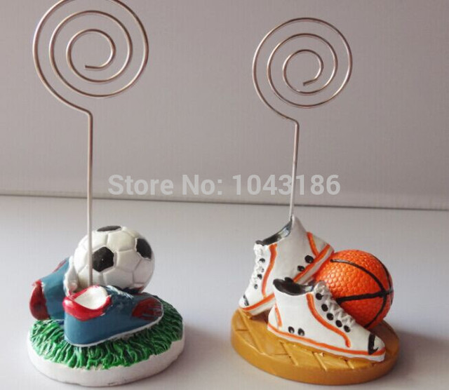 Wedding Party Decoration Favors Basketball Or Football Themed Shoes