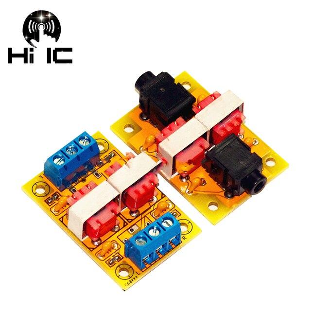 Expédition gratuite HiFi Audio isolateur acoustique Isolation du bruit élimination des interférences son filtre Isolation boucle de terre suppresseur