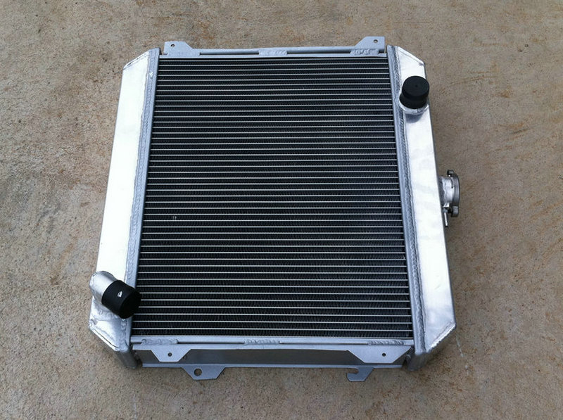 3 ROW Aluminum Radiator for Nissan Stanza Datsun 620 2.0L 1975-1979 76 77 78 79