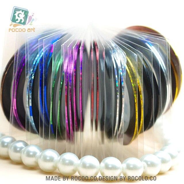 Hot Selling Fashion Nail DIY Kit Nail Art UV Gel Tips Nail Rolls ...