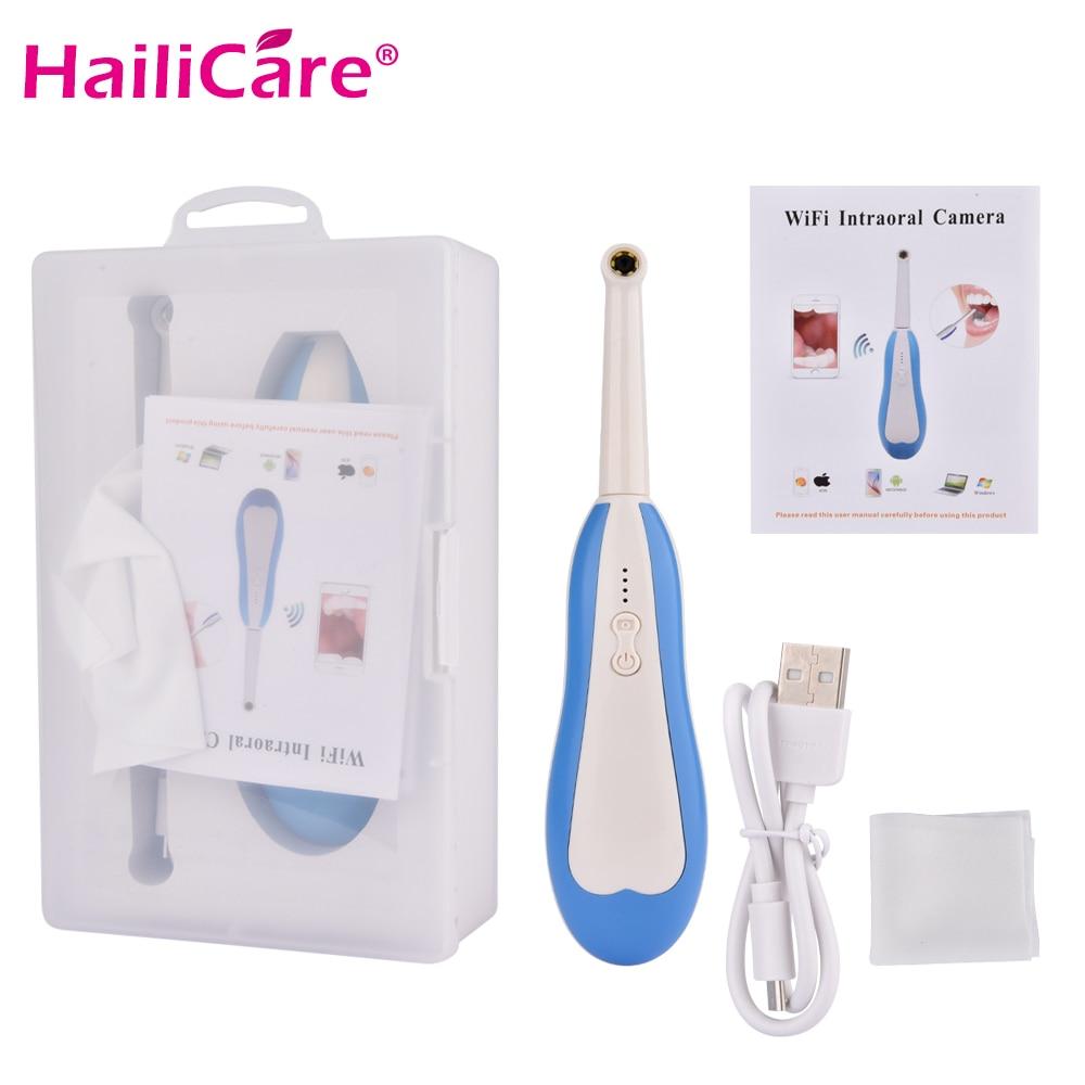 WiFi Cámara Dental inalámbrica HD Intraoral endoscopio de luz LED vigilancia inspección para el dentista Oral Tiempo Real herramientas dentales