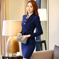 Korean Autumn Blazer Sets Femme Office Lady Blaser Feminino Suit Women's Blazers and Jackets 2016 Bleiser Coats Female Americana