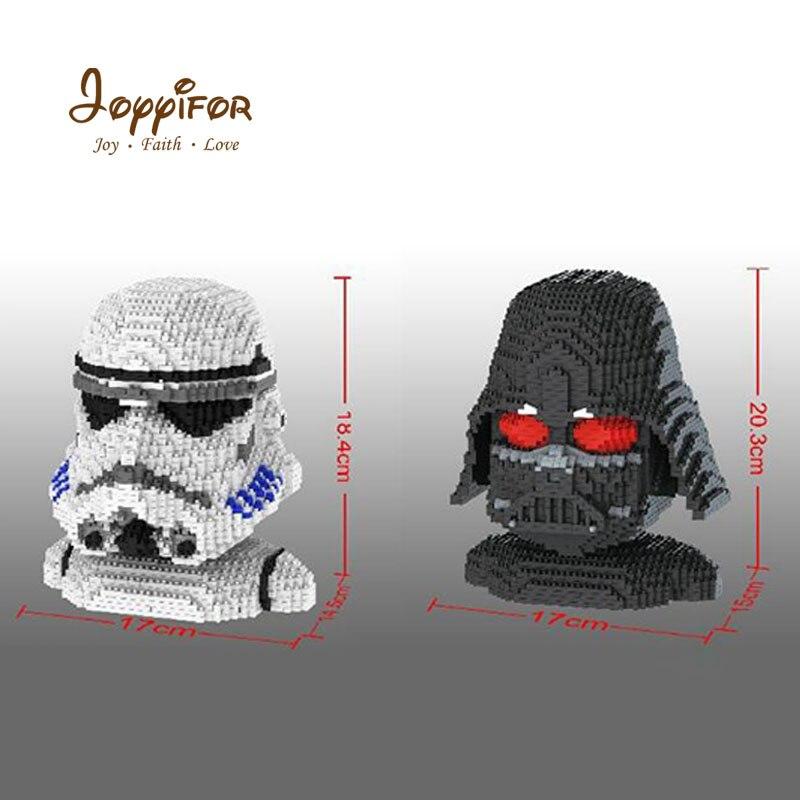 Joyyifor Star Wars dark vador Storm Mini blocs de diamant bricolage modèle d'assemblage briques jouets pour enfants amis meilleurs cadeaux
