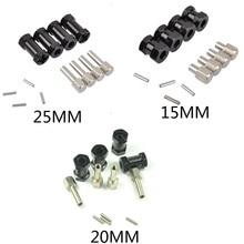 RC Car 1:10 RC Rock Crawler Upgrade Length Aluminum 15MM/20MM/25MM Extension Adaptor Alloy Hub HEX 12MM for SCX10 D90