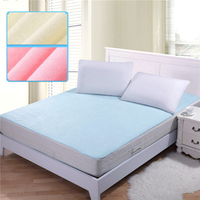 150*200cm 100% Cotton Changing Mat Breathable Baby Waterproof Bed Sheets  Mattress Baby Diaper Pad Mattress Protector