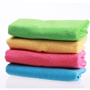"""Image 1 - 16pcs 12""""x12"""" Absorbent Fast Drying Microfiber Towel Micro Fiber Cleaning Cloths Wiping Rags Kitchen Dish Towels Cleaning Rag"""