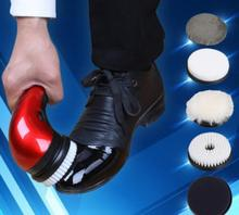 Free shipping   Multifunctional household automatic electric shoe cleaner leather care dusting machine Shoe Dryer