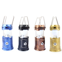 Portable Collapsible LED Camping Lanterns Lights for Hiking Emergencies Flashlight Outdoor Waterproof Light Novelty Lighting