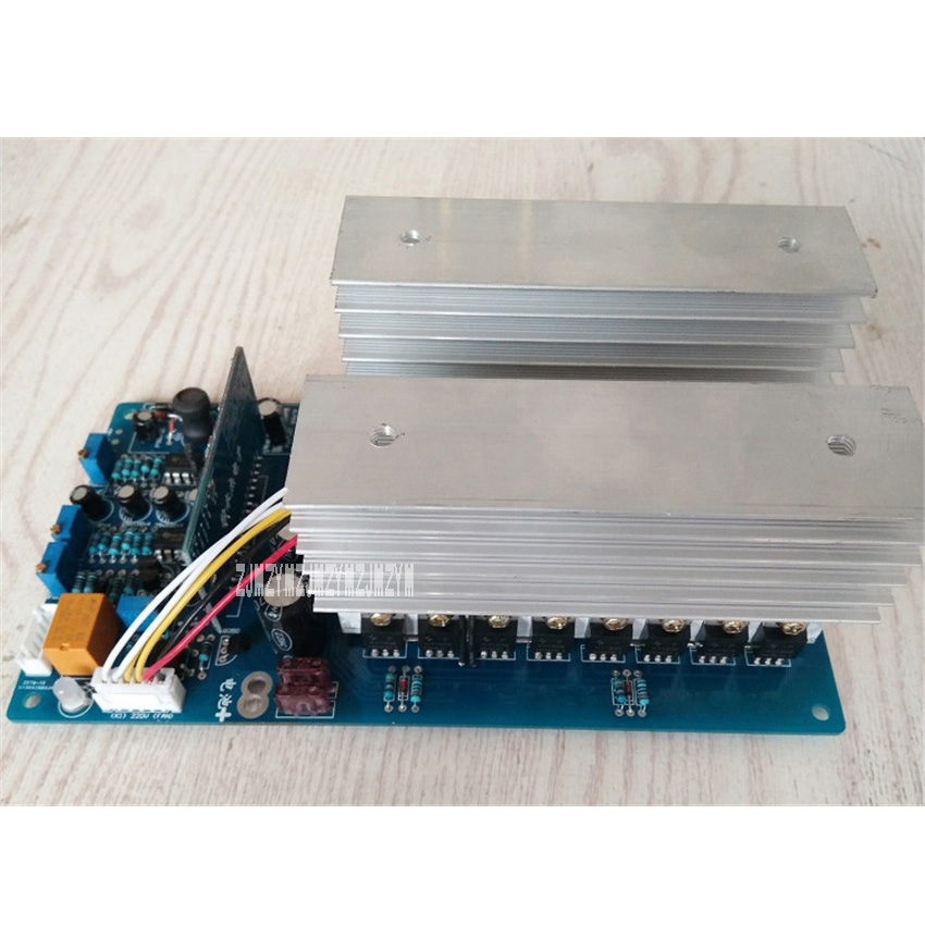Automatic Identification Of 24-72v Input Voltage Of Power Frequency Sine Wave Inverter Motherboard 7500va Home Appliance Parts Air Conditioner Parts