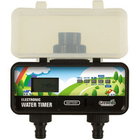 LCD Solar Electronic Water Timer Garden Irrigation Controller With Rain Sensor Function