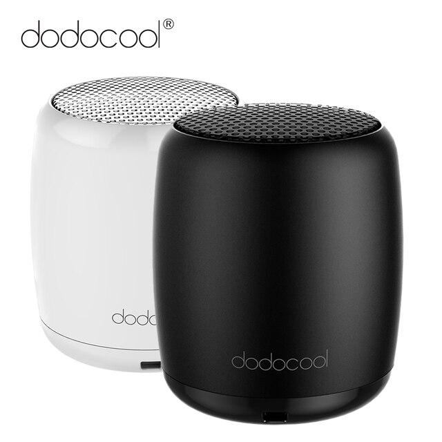 Dodocool altavoz portátil Bluetooth manos libres estéreo de música caja cuadrada Mini altavoz inalámbrico para Xiaomi Samsung PC altavoz