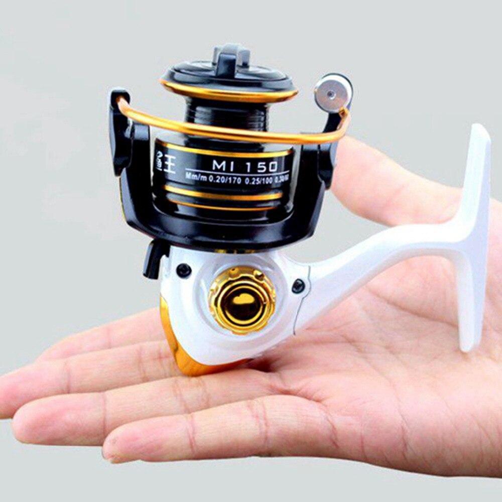 2016NEW! High Quality 150g Small Ice Fishing Reel 10BB Spinning Reels Raft Wheel MI150 Free shipping