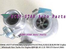 Turbo TD04L 49377-07440 49377-07403 076145701L 076145702A Turbocharger For Volkswagen VW Crafter 2006- BJM BJL R5 LT3 Euro4 2.5L