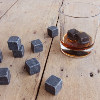 Drixon 100% Natural Whiskey Stones Sipping Ice Cube 1