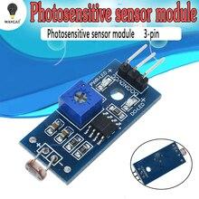 Фоточувствительный сенсор модуль обнаружения света модуль для Arduino