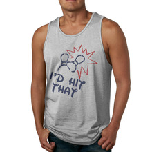 AGARY&EASY Newest Men Tops I would Hit That Men's Tank Tops Gyms Sleeveless Tee Men Tanks