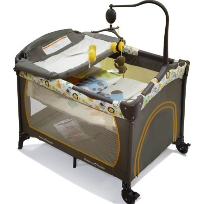 High quality free shipping Multifunctional folding portable game bed foldable baby bed newborn game guard bed  цена и фото