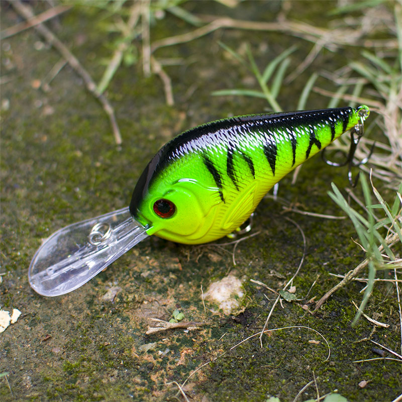 1PCS Fishing Lure Deep Swimming Crankbait 9.5cm11.4g Hard Bait 5 colors available Tight Wobble Slow Floating Fishing Tackle lifelike minnow fishing lure wobbler slow floating 7cm 6 5g plastic crankbait hard bait 5 colors available fishing tackle