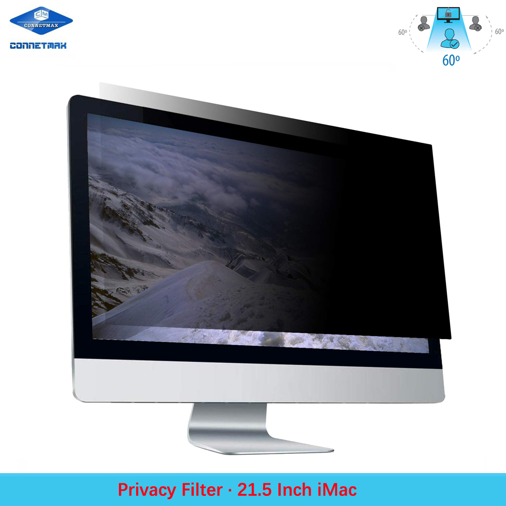 Anti-Glare Laptop Privacy Filter Blackout for Apple iMac 21.5 Desktop LCD Monitors image