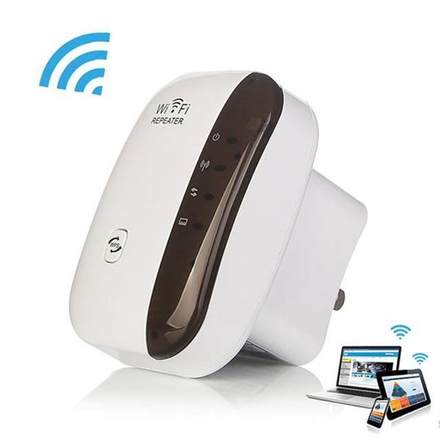 Kablosuz WiFi Tekrarlayıcı Amplifikatör WiFi Genişletici 300 Mbps Wi-Fi Range Extender Wi Fi sinyal amplifikatörü Booster 802.11N Erişim noktası