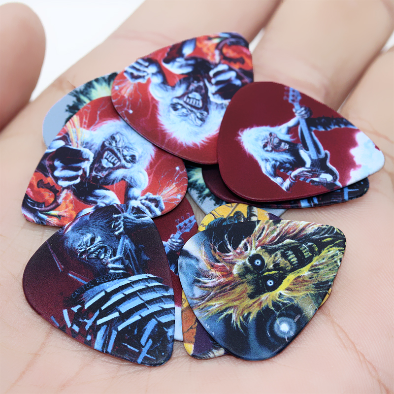 SOACH 50pcs Bass Guitar Picks Thickness Mix Plucked Instrument Accessories Guitarra / Acoustic Guitar Paddle / Ukulele Parts