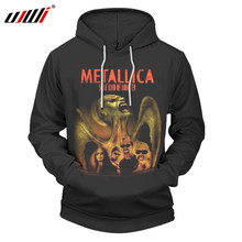2018 Metallica 3d Printed Hoodies Men Pullover Hoodie Sweatshirt Big Size 6XL O-Neck Hooded Clothing Streetwear Dropshipping(China)