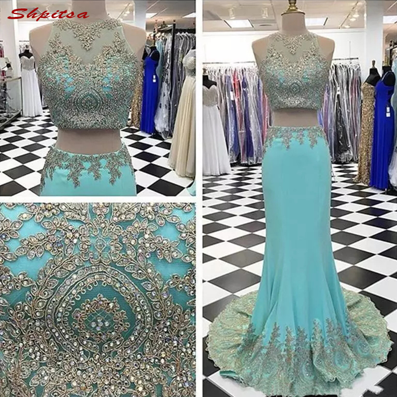 Two Piece Long Lace Mother Of The Bride Dresses For Weddings Mermaid Plus Size Prom Evening Groom Dinner Dresses 2018