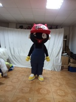 Black Boy Mascot Costume Halloween gift costumed characters sex dress hot sale